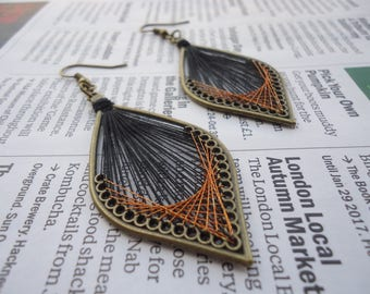 Peruvian thread Earrings