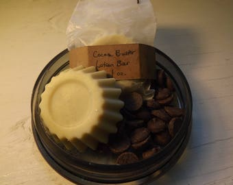 Cocoa Butter Lotion Bar