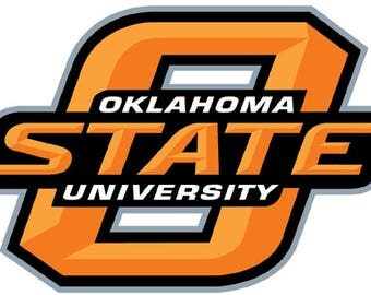 "Oklahoma State University 5"" to 11"" FULL COLOR vinyl decal sticker"