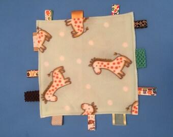 Giraffe Mini Comfort Blanket