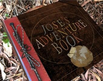 Custom Name Adventure Book Handmade and Personalized