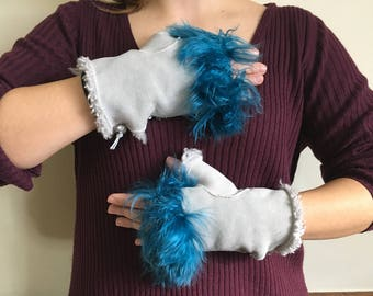 Sheepskin Fingerless One Size