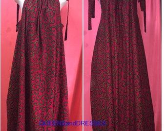 Summer ankara dress. Ankara maxi dress. Tie shoulder dress.Lose shift african ankara dress .women's clothing .ankara wear.