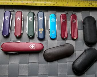 8 Swiss Army Knives