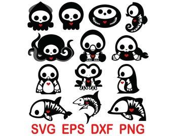 Skelanimals .svg,eps,dxf,png.