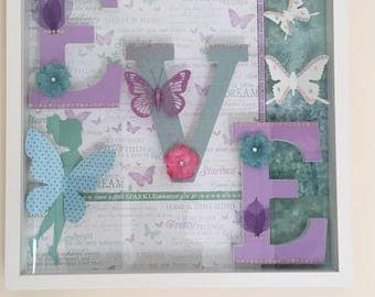 Enchanted Forest & Fairies Name Frame