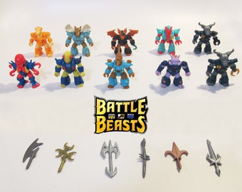 Original Battle Beasts - Set of 10 from Series 1, 2 and 3