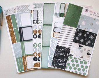 Home for the Holidays - Classic Happy Planner Weekly Kit