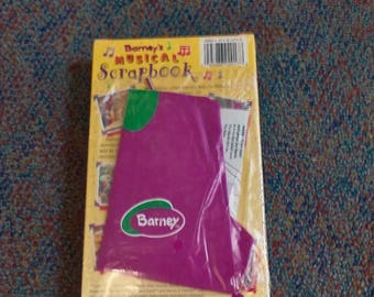 Barney vhs: Barney's Musical Scrapbook with Kite, NEW