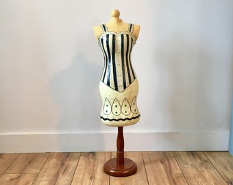 Dress Form Mannequin, Tabletop, Vintage