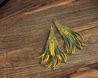 Tabestoon - beaded earrings