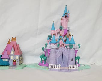 Cinderella Stepmother House and Enchanted Light Up Castle Full Set