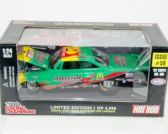 Cruz Pedregon Racing Champions 1962 '62 Chevy Bel Air # 58 1/24 Diecast