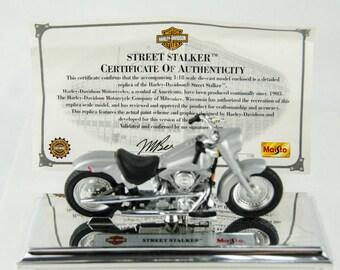 Maisto Harley Davidson Street Shaker 1/18 Diecast Motorcycle