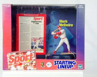 Starting Lineup 1999 Sports Stars St. Louis Cardinals Mark McGwire Action Figure