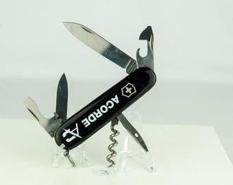 Victorinox Swiss Army Tourist Black LOGO Pocket Knife