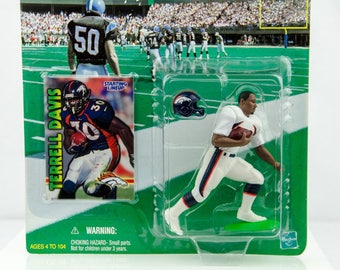 Starting Lineup 1999 NFL Denver Broncos Terrell Davis - Action Figure