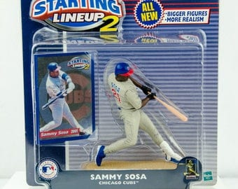 Starting Lineup 2 2001 Sammy Sosa Action Figure Chicago Cubs