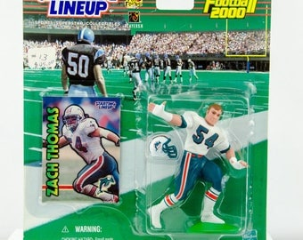 Starting Lineup NFL 1999 Zach Thomas Action Figure Miami Dolphins