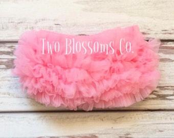 Baby Girl Bloomers Baby Bloomers Baby Ruffle Bloomers Pink Chiffon Bloomer Newborn Bloomer