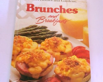 Brunches and breakfasts by Better Homes and Gardens Books, first edition, first printing.