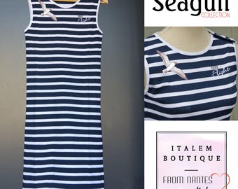 "Sailor dress ""Seagull - Take flight"""