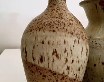 Medium pottery vase | Vintage vase | Ceramic vase