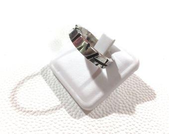 Zebra Silver ring/zebra Ring