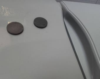 25 mm round and flat magnets ref magnets: A4