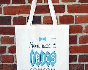 "Tote bag ""My bag to stuff"""