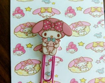 My Melody Doll Planner Clip