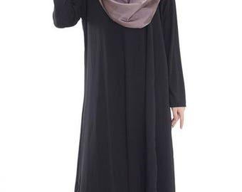 Black long sleeve abaya