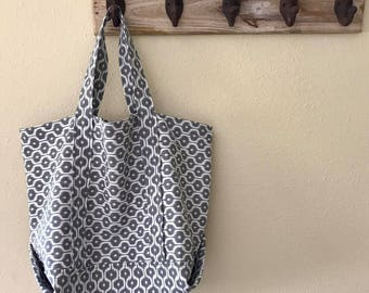 Small Tribal Print Tote