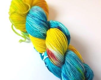 Untitled 03 - Postscript Fingering - Hand-Dyed Sock Yarn