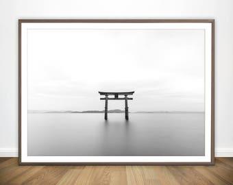Minimalist Print * Japanese Poster Yoga Print Japanese Print Minimalist  Printable Japan Poster Japanese Wall Art