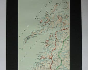 Archipelago Etsy - Vesteralen norway map