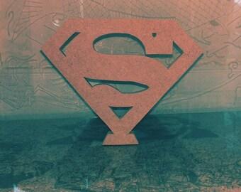 Blank Superman Logo