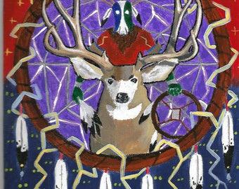 Blacktail deer buck dancer