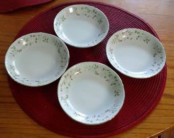 Vintage Fine China By Sheffield/#501 Classic Pattern/Dessert/Fruit Bowls