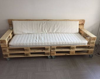 Living room couch industrial pallet