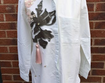 Handmade authentic embellished top