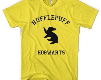 Hufflepuff Varsity Unisex T-Shirt All Sizes