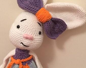 Crochet bunny, bunny stuffed animal, Easter bunny, bunny plush, bunny amigurumi, crochet rabbit, rabbit plush, rabbit stuffed animal