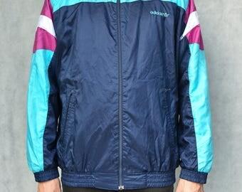 Adidas Vinatage Sports Jacket Size M
