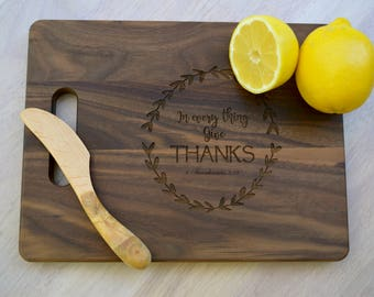 In Every Thing Give Thanks Cutting Board