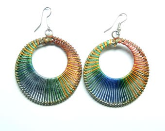 Amazing Quality Multi Silk Thread Dangle Earring For Teenagers and Women Handmade Item Traditional and Fancy Item in low prize