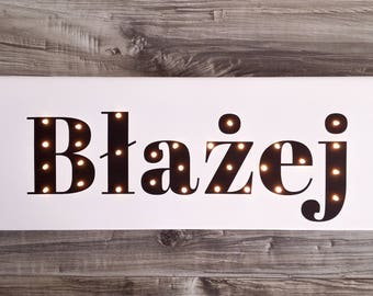NAME sign, Light up letters, Light up name, Birthday gift, Name with Led, Custom marquee sign, Kids lamp, Personalized name light, Marquee
