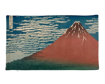 Katsushika Hokusai,  Fine Wind, Clear Weather - Rectangular Pillow Case only