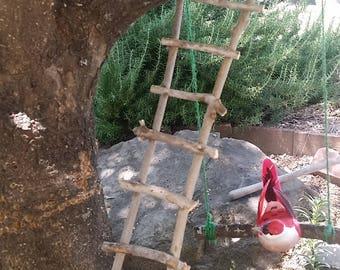 fairy garden miniature ladder
