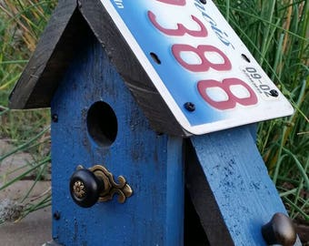 Small birdhouse.
